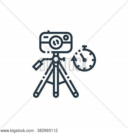 Camera Tripod Icon From Photography Collection Isolated On White Background.