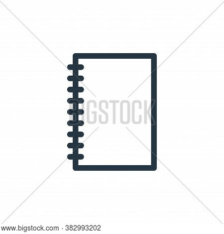 paper icon isolated on white background from office equipment collection. paper icon trendy and mode