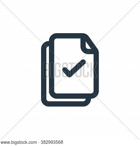 select all icon isolated on white background from file and folder collection. select all icon trendy