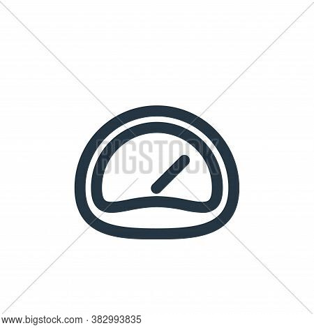dashboard icon isolated on white background from user interface collection. dashboard icon trendy an