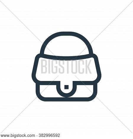 handbag icon isolated on white background from morocco collection. handbag icon trendy and modern ha