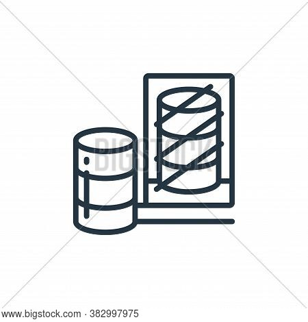 database icon isolated on white background from cloud computing collection. database icon trendy and