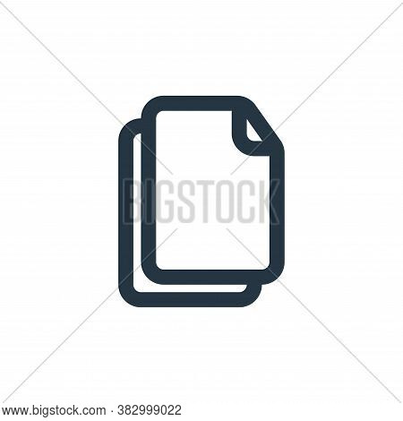 multiple icon isolated on white background from file and folder collection. multiple icon trendy and