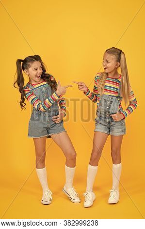 Looking Trendy. Hairdresser Salon. Kid Summer Fashion. Beauty And Style. Childhood Happiness. Happy