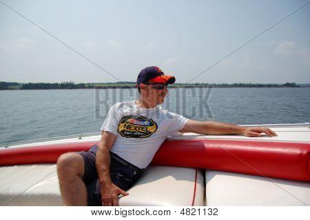 Man Sail Relaxing