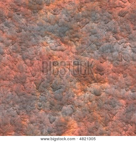 A Rusted Metal Plate Close Up Background poster