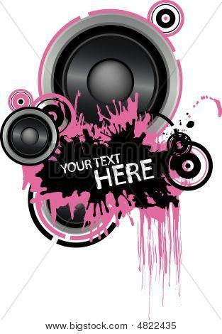 Grunge Speaker Design