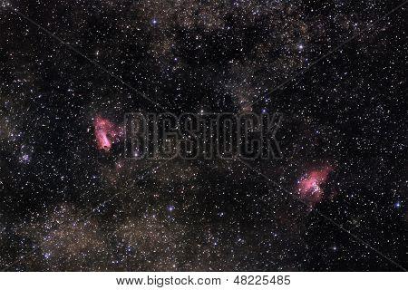 Nebulae Of Milky Way