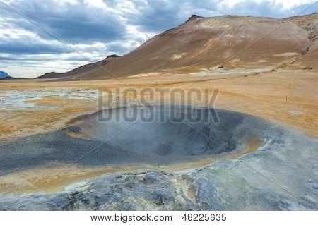 Hverarondor Hverir Hot Springs, Iceland