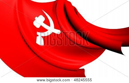 South Asian Communist Flag