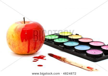 Apple And Paints