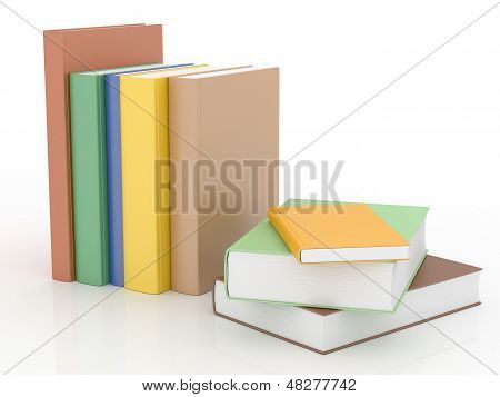 Color Books With Blank Covers