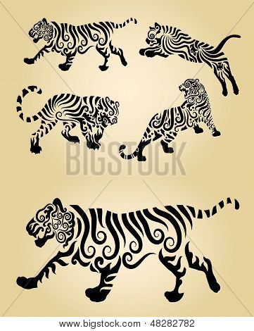 Tiger Ornament Decorations