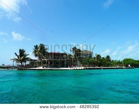 The Split Bar at Caye Caulker, Belize