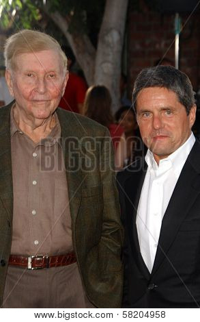 Sumner Redstone and Brad Grey at the Los Angeles Premiere of