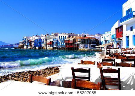 Beautiful Mykonos, Greece