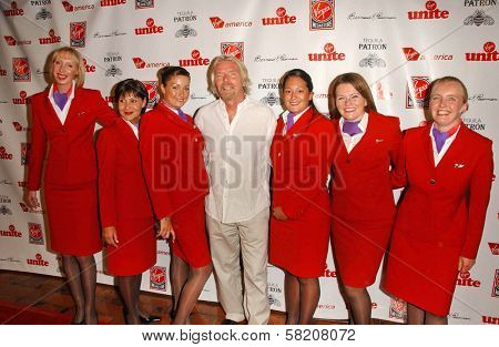 Richard Branson at Rock The Kasbah presented by Virgin Unite. Roosevelt Hotel, Hollywood, CA. 07-02-07