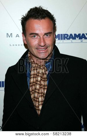 Julian McMahon at the celebration for the Oscar nominated films