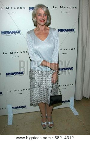Helen Mirren at the celebration for the Oscar nominated films