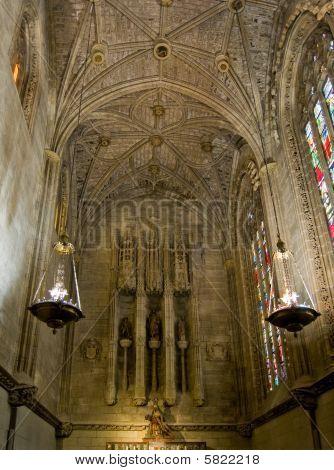 Virgen Del Camino Chapel Of Santa Maria De Leon Cathedral In Leo