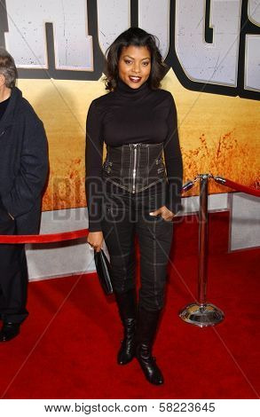 Taraji P. Henson at the world premiere of