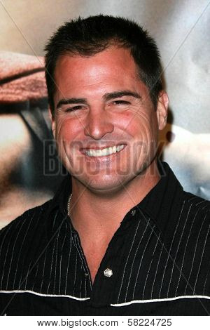 George Eads at the Los Angeles premiere of