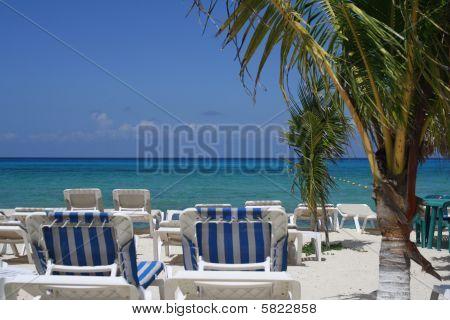 Beach On A Sunny Morning