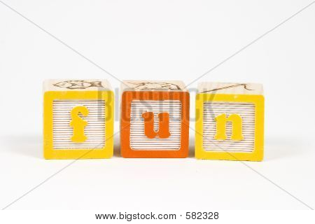 Fun In Block Letters