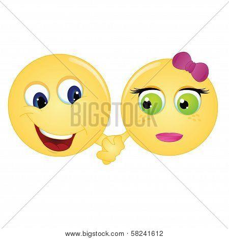Emoticon Couple