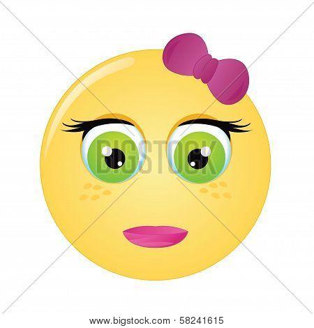 Emoticon Girl