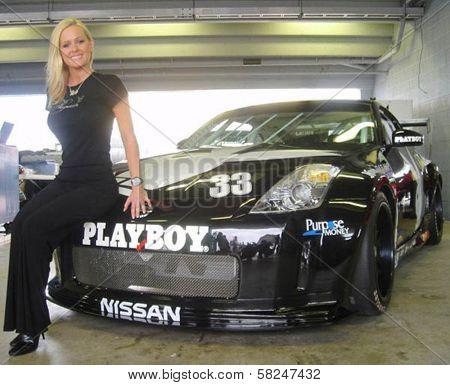 Katie Lohmann at the Inaugural XM Satellite Radio Speedjam, Homestead-Miami Speedway, Homestead, Fla. 03-24-07