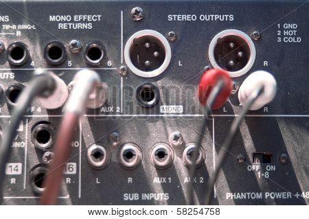 Old Mixer Overhead