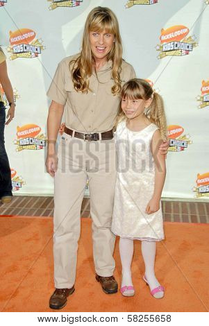 Terri Irwin and Bindi Irwin at Nickelodeon's 20th Annual Kids' Choice Awards. Pauley Pavillion, Westwood, CA. 03-31-07
