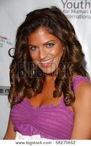 Bridgetta Tomarchio at a Fashion and Music Extravaganza Promoting Human Rights for Youth. Church of Scientology Celebrity Centre Pavilion, Los Angeles, CA. 04-14-07