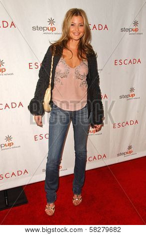 Holly Valance at an Escada 2007 Fall Winter Sneak Preview to Benefit Step Up Women's Network. Beverly Hills Hotel, Beverly Hills, CA. 04-19-07