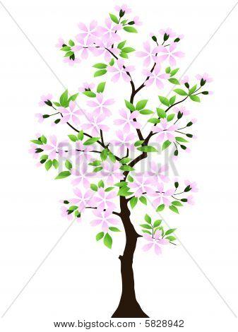 Tree. Vector.