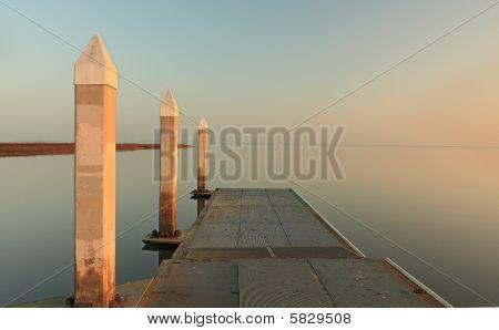 The bay at dawn