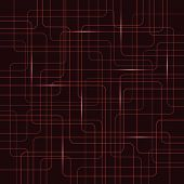 Circuit Electric Board abstract background. Vector illustration. poster