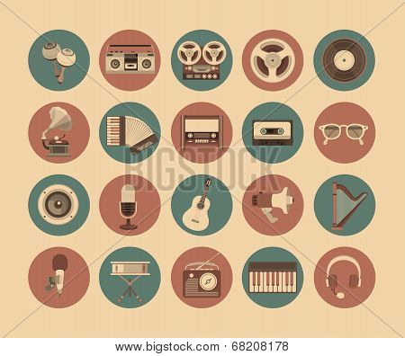 Icons Musical Instruments
