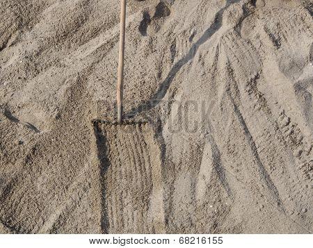 Closeup Of Sand On The Beach