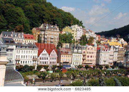 Cityscape Of Karlovy Vary