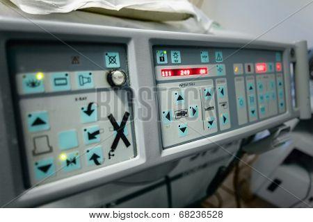 Ultrasonic Lithotripter Panel