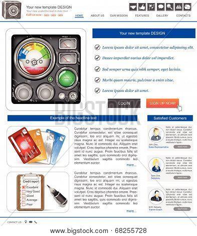 website template 15