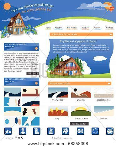 Website Template 49