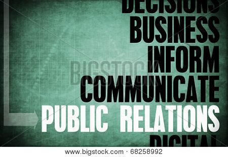 Public Relations Core Principles as a Concept Abstract