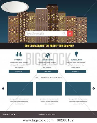 Website Template 54