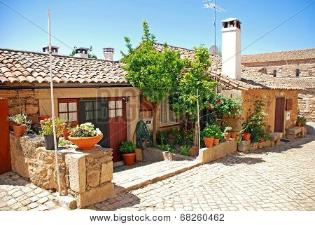 Vintage Stone Home In Old Portugal Village.