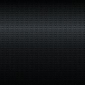 Seamless vector black metal texture with highlight poster