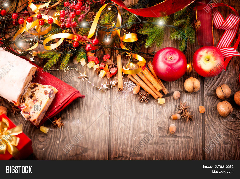 Christmas Food Border Image & Photo (Free Trial) | Bigstock