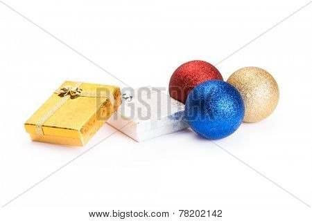 isolated gift on a white background